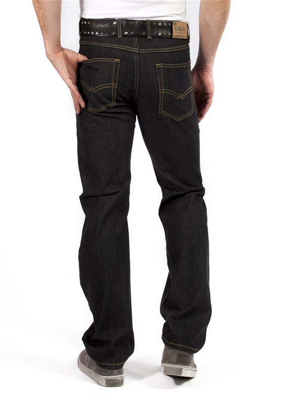 "Digo / Dxgo / DJX Stretch jeans  ""  Model 121 ""  Zwart"