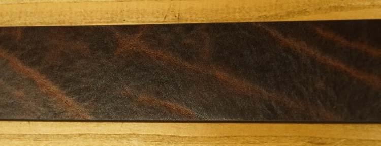 """Leren jeans riem  """" Zwart met structuur  435  """" 4 cm breed"""