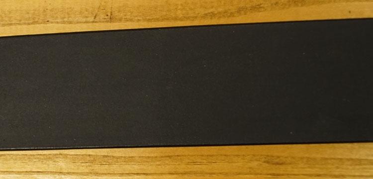 "Leren jeans riem zwart  "" Vittozzi 185 ""   4 cm breed"