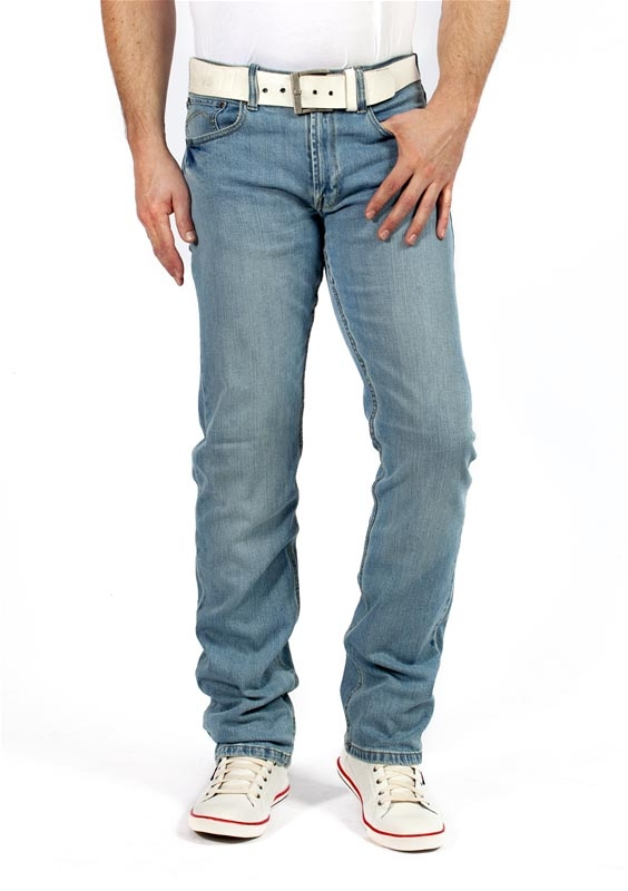 "Maskovick stretch jeans  "" Clinton ""  Light used"