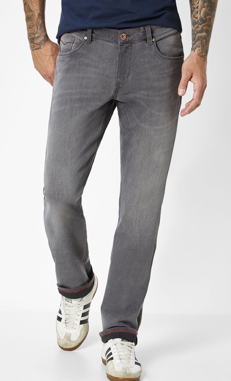 "Paddock's stretch jeans  "" Ben "" Grijs used"