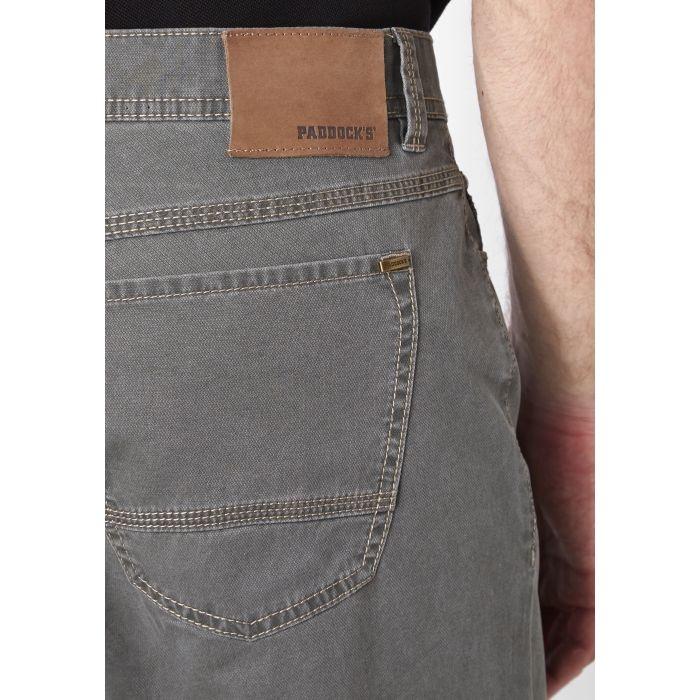 """Paddock's stretch jeans  """" Ranger pipe """" grijs / groen"""