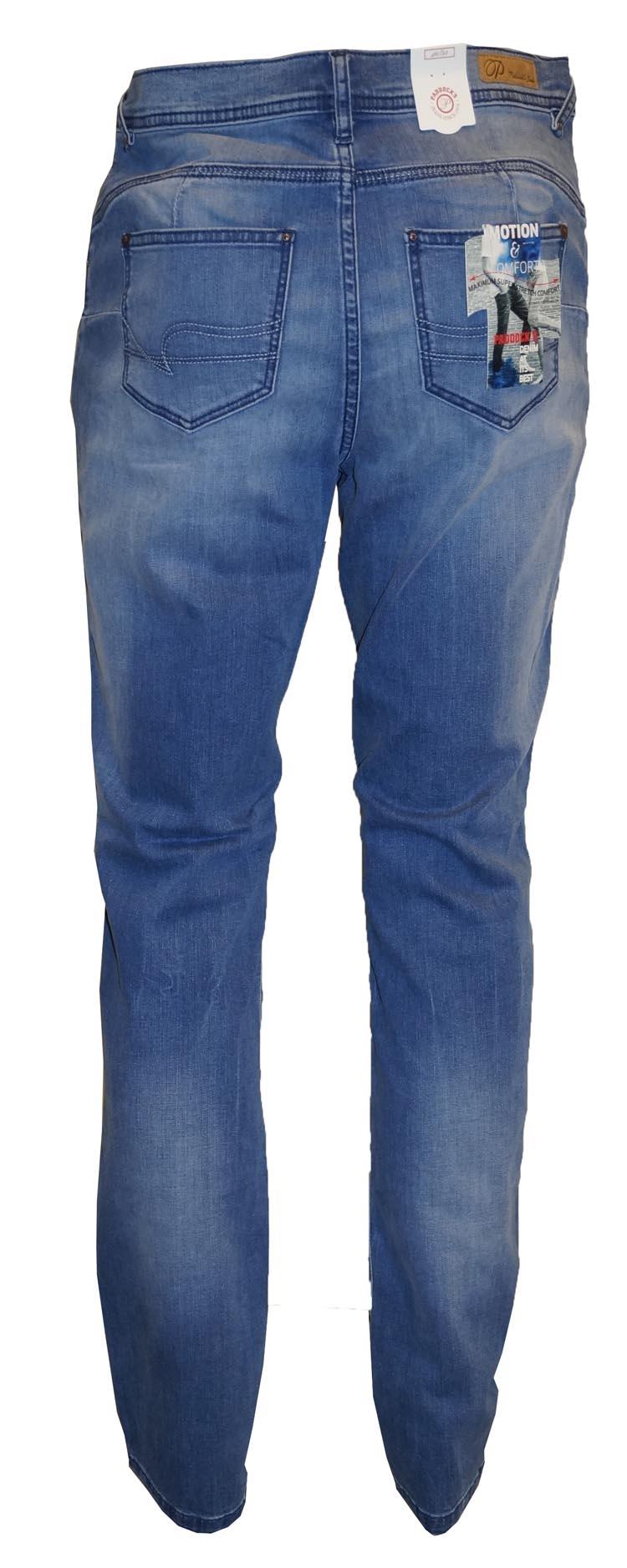 "Paddocks stretch jeans  ""  Pat ""  Bleach used"