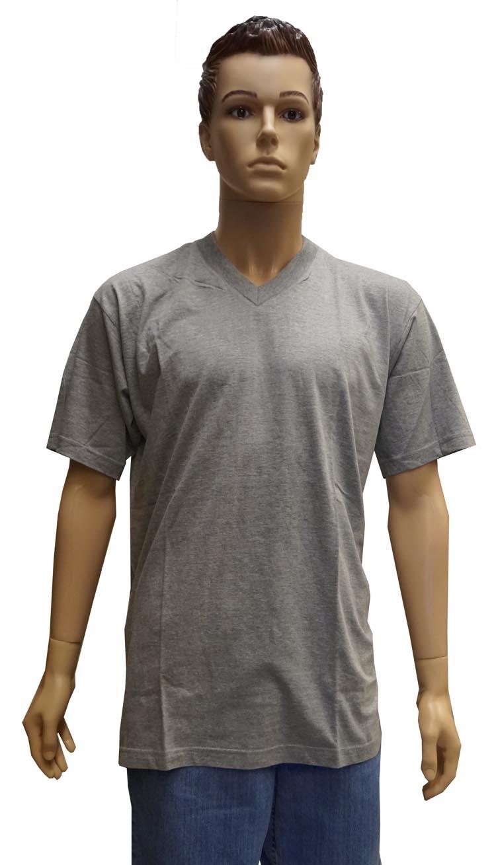 """V-hals T-shirt met korte mouwen  """" Wit """""""