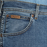 """Wrangler stretch jeans  """" Texas """"  Dark stone"""